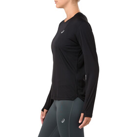 asics Silver LS Top Women performance black